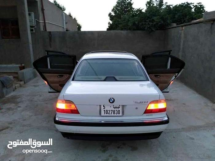 Automatic White BMW 1999 for sale