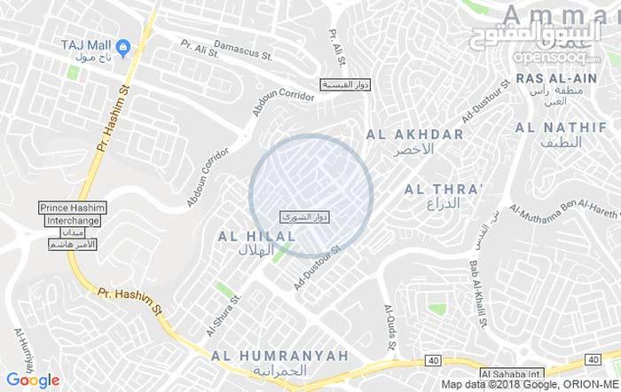 شقة للبيع بحي نزال- قرب دوار حديقة الشورى- جامع علي صقر