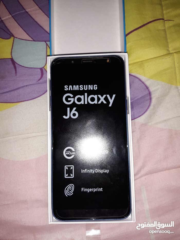 هاتف جي 6 شبه جديد ازرق للبيع مستعجل نبي نبيعه بسرعة سعره كازيوني 32 جيجا و بصمة