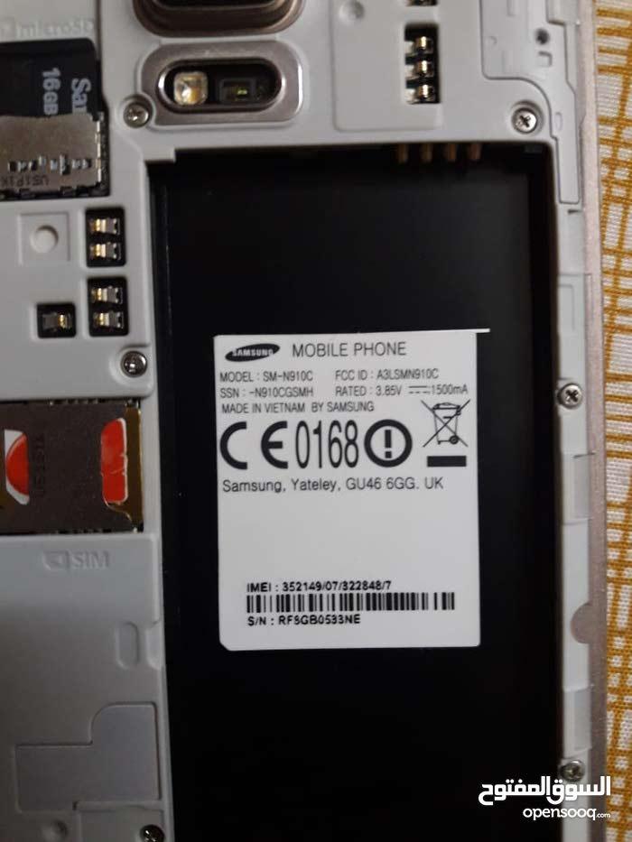 سامسونج Note 4 وارد الخارج نظيف 32 g