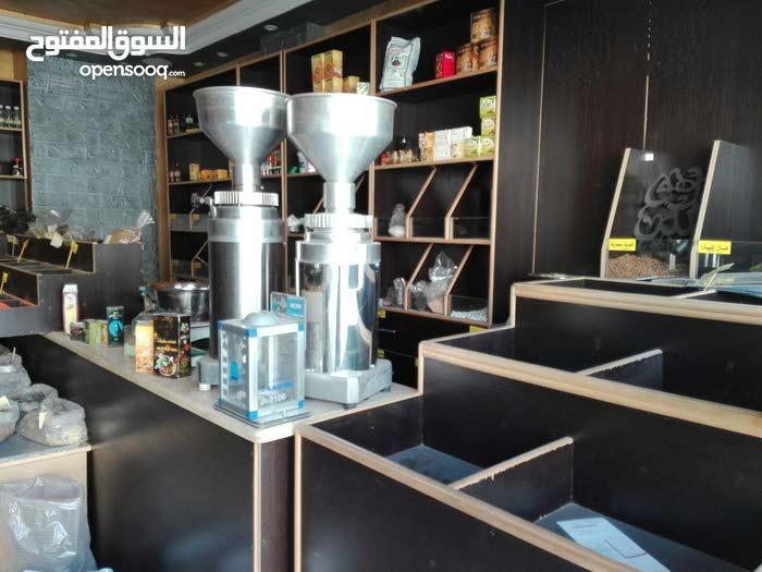 ديكور محمص وعطاره ومعدات ومطاحن قهوه كامله للبيع  للاستفسار:0795352554