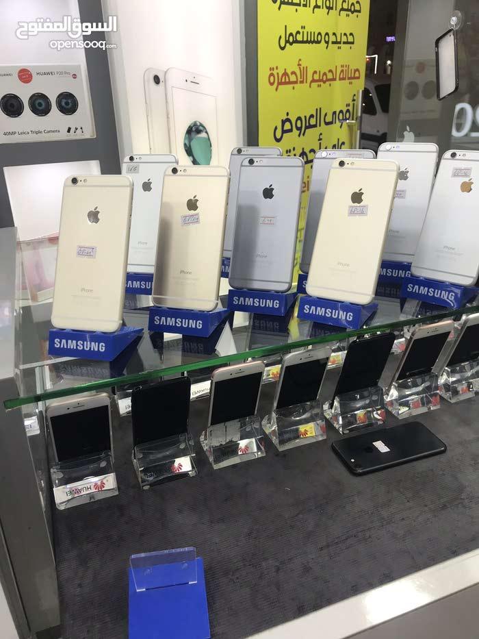 ايفون 6بلس 64  جيقا مستعمل بحاله جديد وبسعر مميز