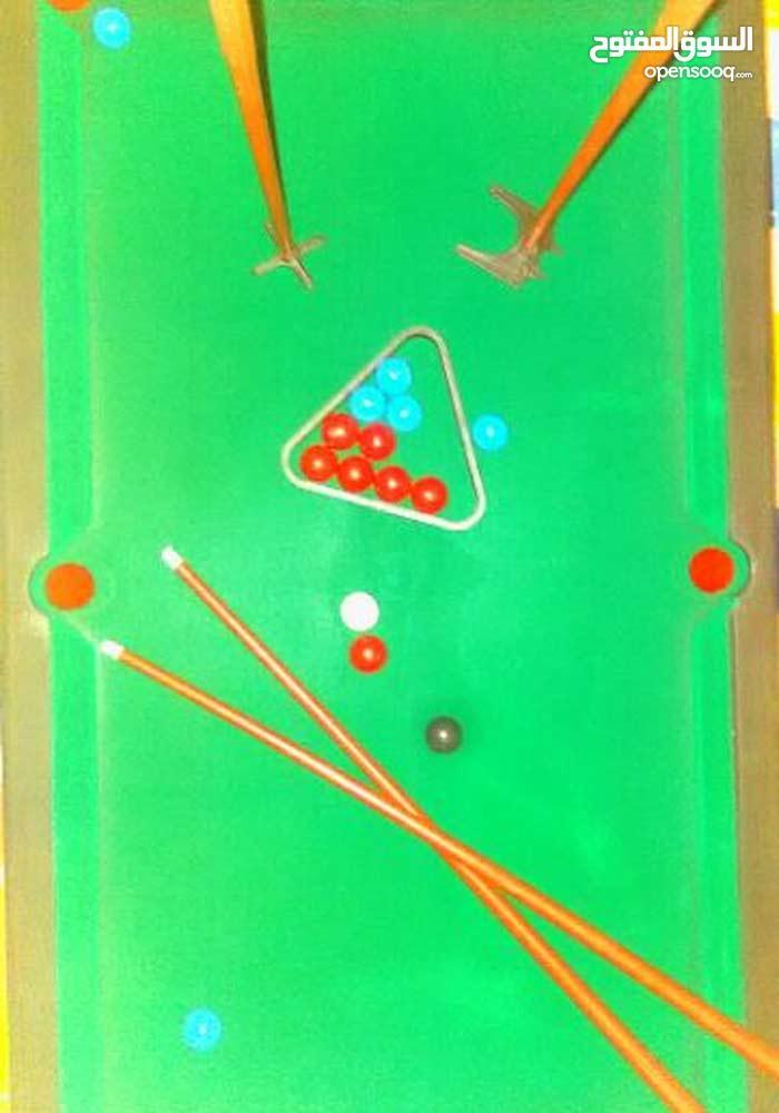 لعبة الاطفال طاولة بلياردو و سنوكر