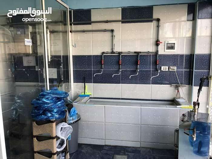 محطة مياه للبيع خلف مستشفى فيصل حي القدسيه