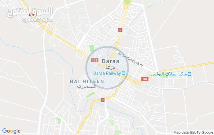 شقة سكنية ارضية 130م للبيع - درعا - ضاحية الشهيد باسل الاسد