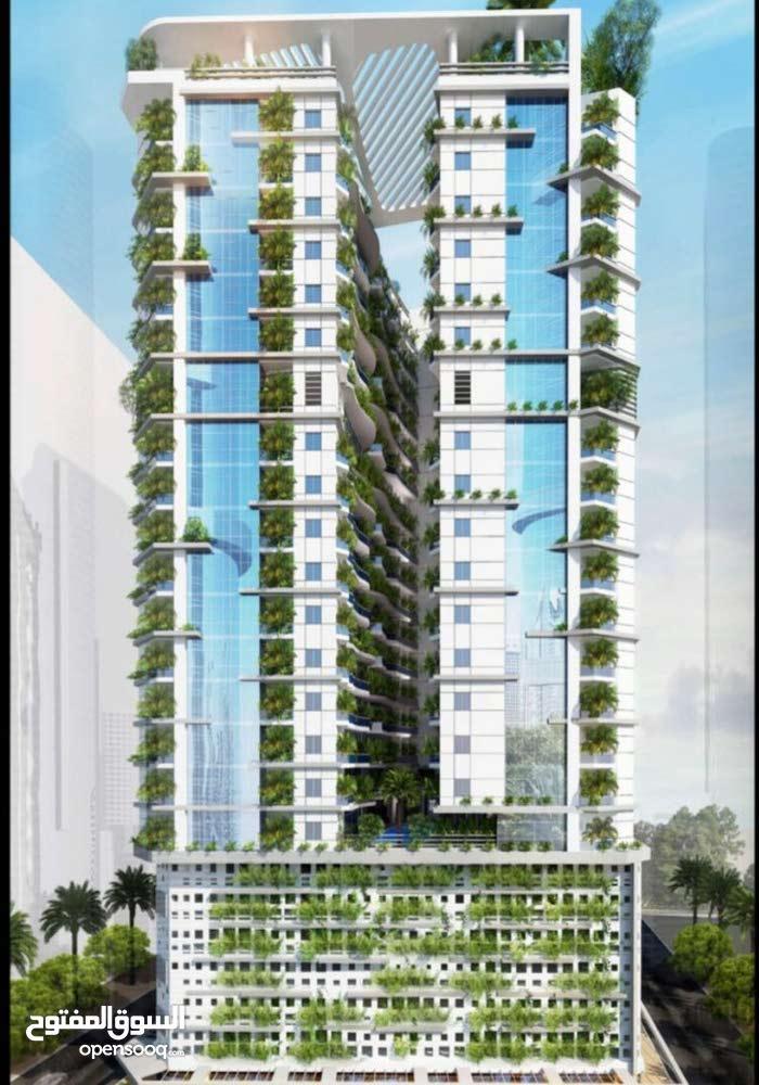 تملك شقتك في اول برج صديق للبيئة في امارة عجمان باقساط على مدى 65 شهر والتملك حر من المالك مباشرة