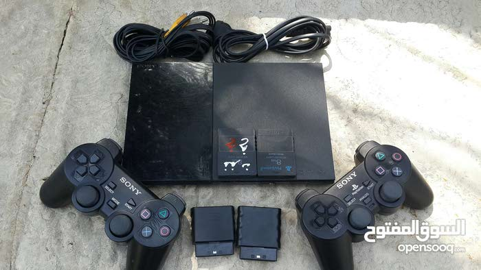 Used Playstation 2 device with add ons for sale today