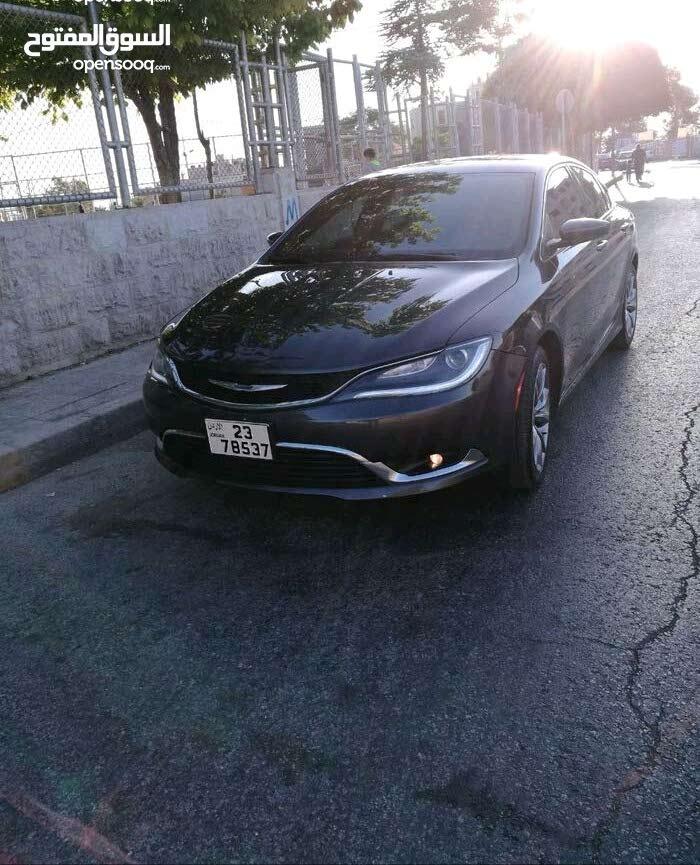 Black Chrysler 200 2016 for sale