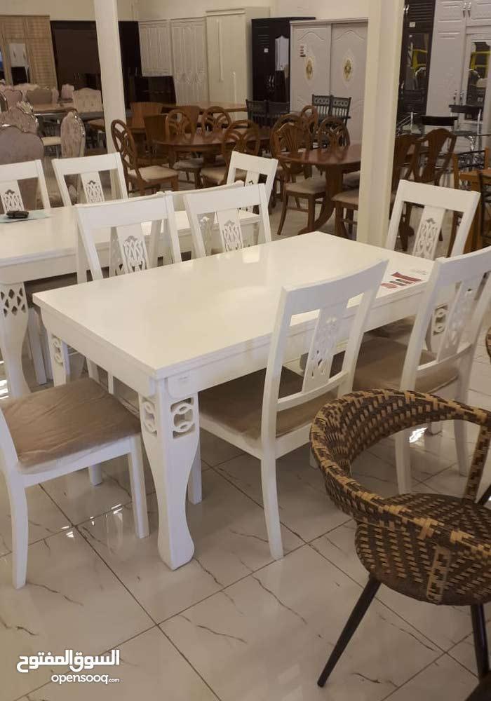 طاولة طعام ماليزي 6كراسي