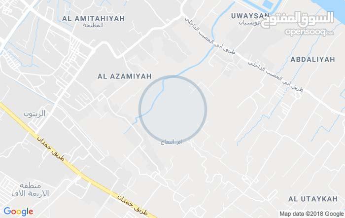 قطعه أرض زراعي باسمي في ابو الخطيب ام النعاج  خلف معمل ثلج اللامي