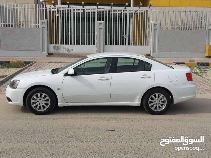 Automatic White Mitsubishi 2010 for sale