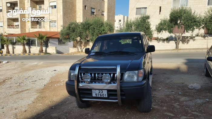 Manual Toyota 1998 for sale - Used - Amman city