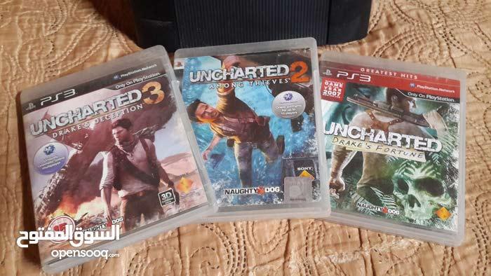 لعبة uncharted ثلاث اجزاء