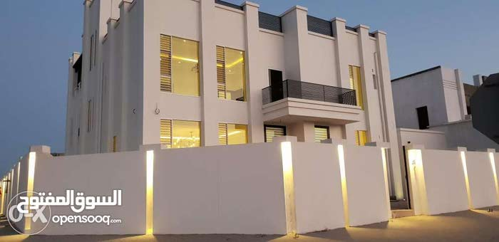 Al Maabilah neighborhood Seeb city - 362 sqm house for sale