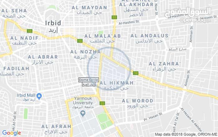 Al Nuzha neighborhood Irbid city - 140 sqm apartment for sale