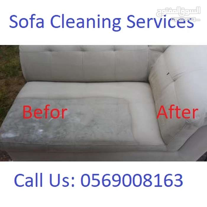 Sofa, Couches Deep Shampoo Cleaning