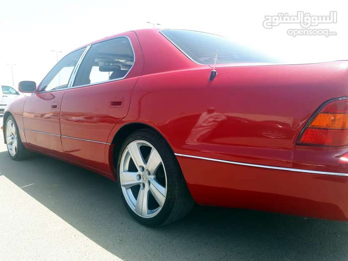 Lexus LS 1995 For sale - Red color