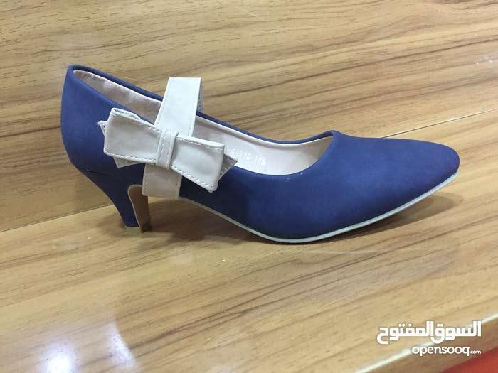 حذاء كعب5سم موديل جديد