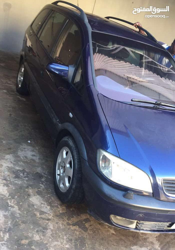 Opel Zafira 2003 for sale in Tripoli