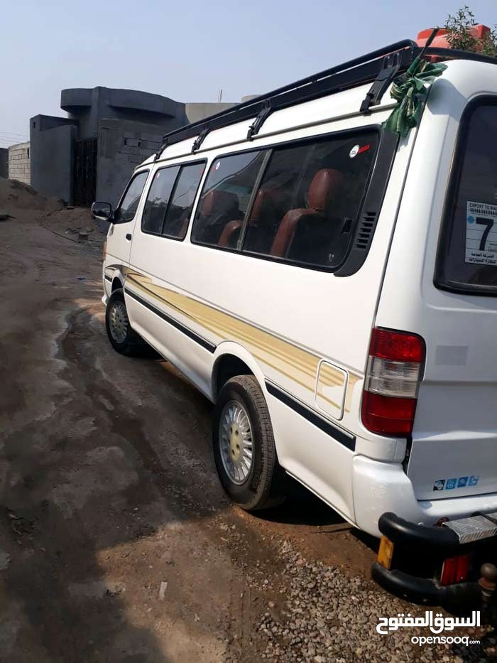 White Foton View Traveller 2014 for sale
