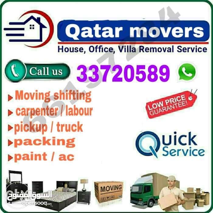 moving & shifting service in Qatar