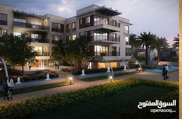 شقة 215م دور تالت للبيع ب Taj Sultan