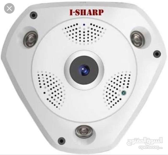 كاميرا مراقبة ويرلس 360 i-sharp