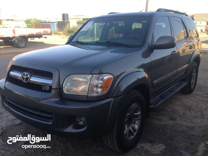 Silver Toyota Sequoia 2006 for sale
