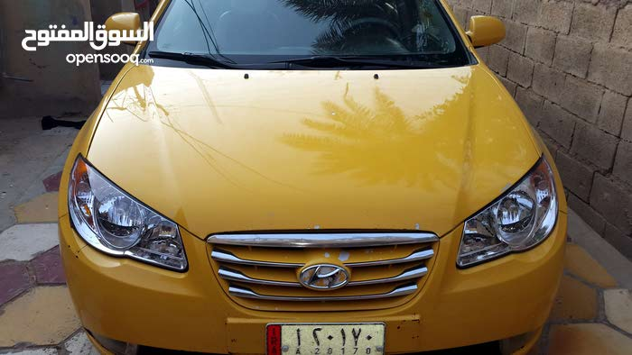 Hyundai Elantra 2008 For sale - Yellow color