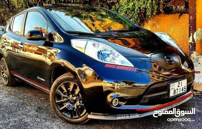 Black Nissan Leaf 2013 for sale