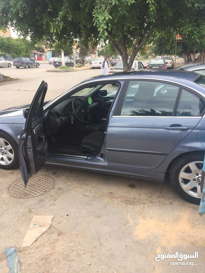 Automatic Blue BMW 2001 for sale