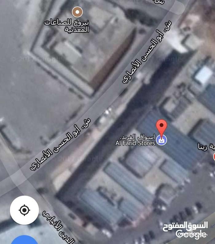 ارض خلف اسواق الفريد صناعي مساحة دونم و 86 متر