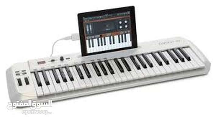 للبيع لوجة مفاتيح موسيقيه توصل بلكمبيوتر او الهاتف او التابليت