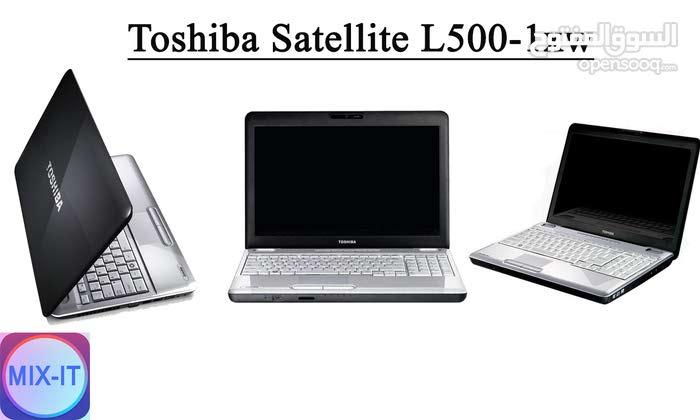 لابتوب Toshiba Satllite L500-1xw Core i3 مستعمل فقط ب700 شيكل
