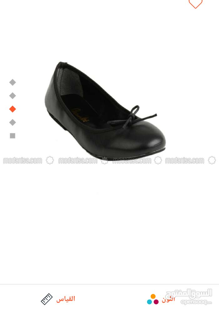 bbb2e0d15 أحذية نسائية أوروبية جلد اسود - (104015862)   Opensooq