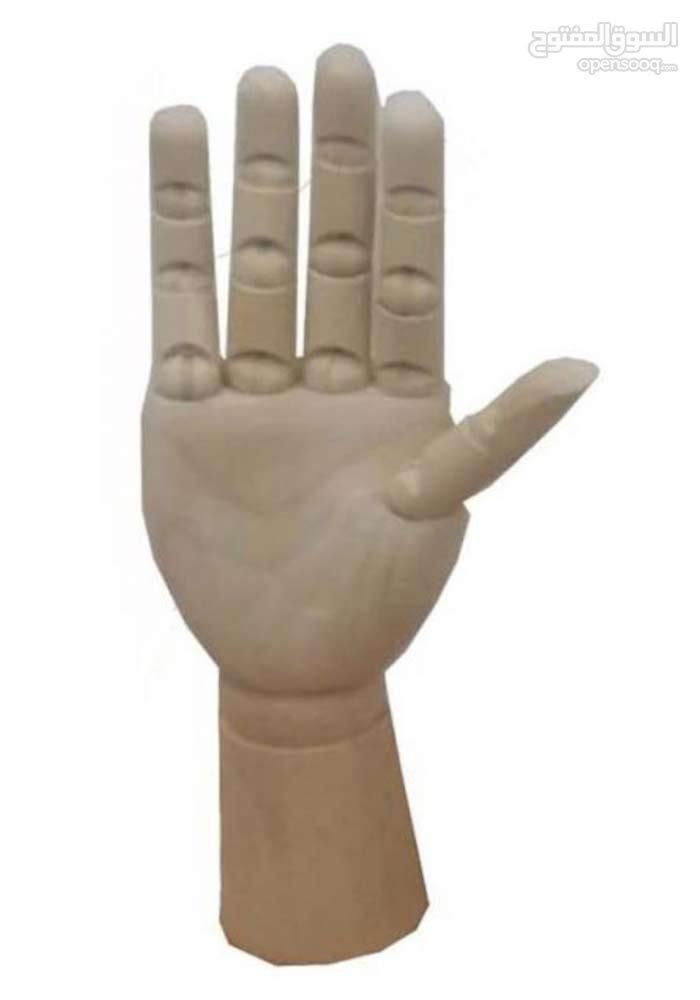 اليد الخشبية التعليمية - The wooden hand