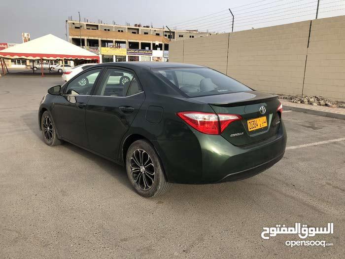 For sale 2015 Green Corolla