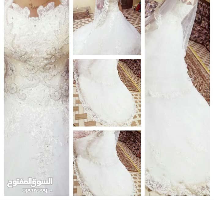 fe26771070fb1 فستان زفاف راقي ملبوس مره واحده فقط للبيع - (102118632)