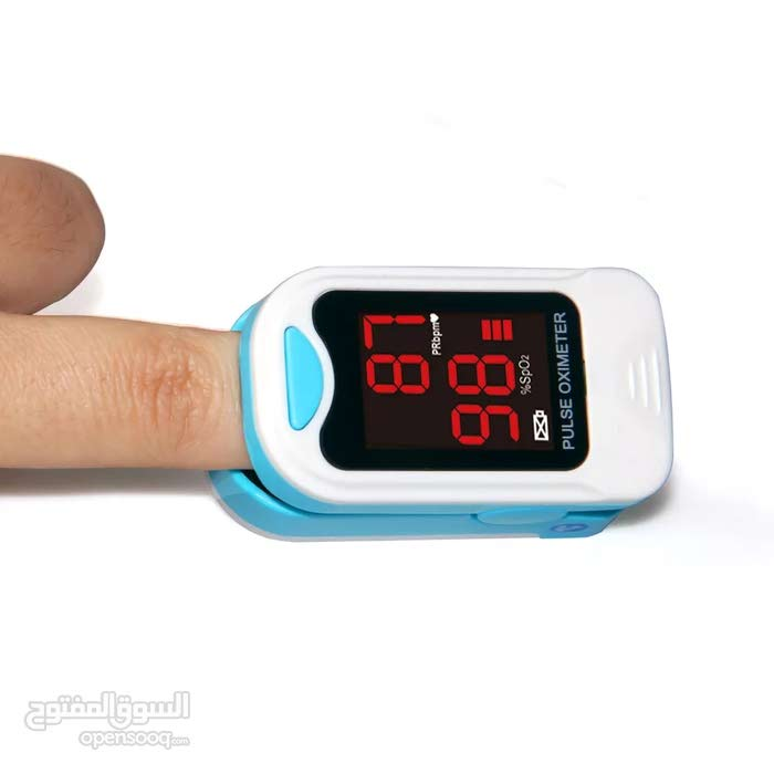 جهاز قياس نسبة الأكسجين في الدم ومعدل النبض