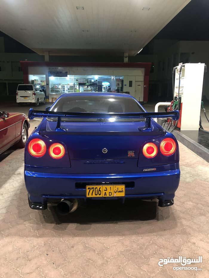Nissan GT-R 1996 For sale - Blue color