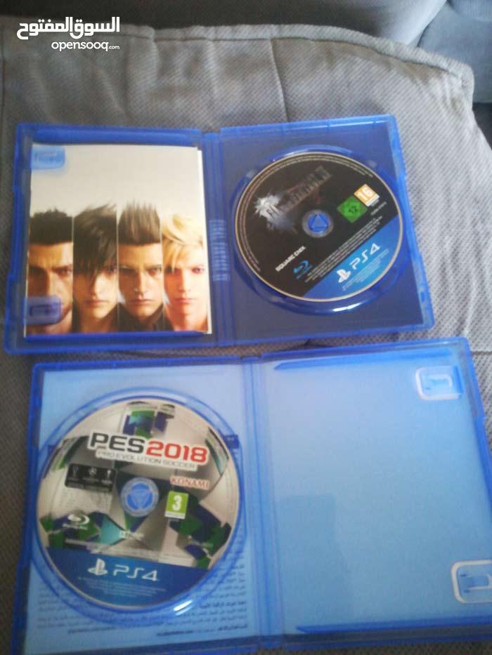 PS4 used games pes2018 + Final fantasy xv