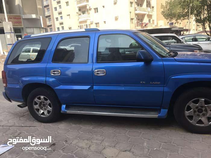 For sale 2004 Blue Escalade