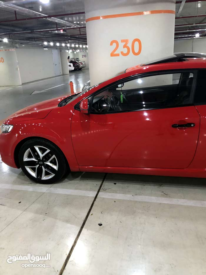Red Kia Forte 2011 for sale