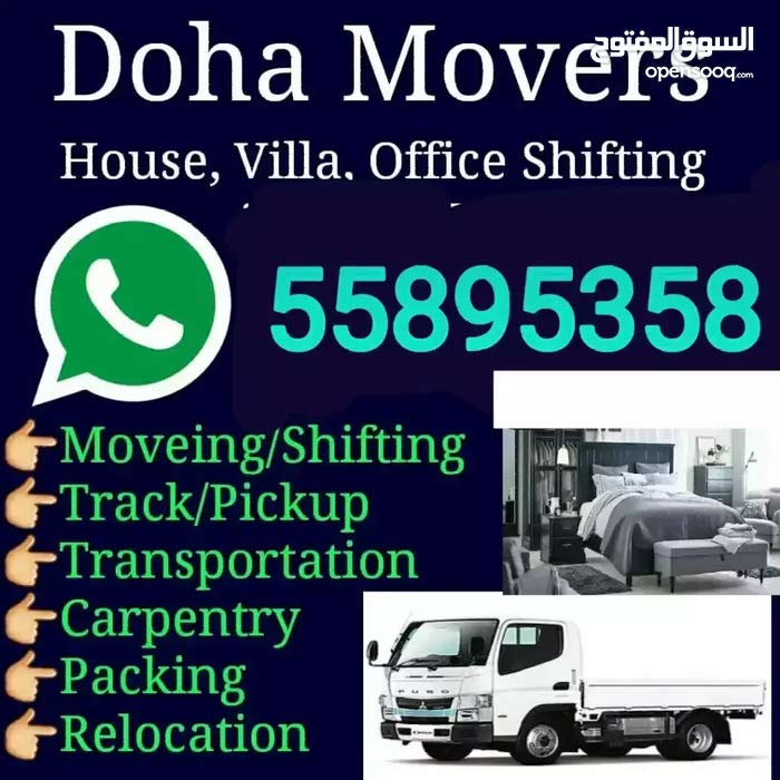 Doha shifting moving carpenter