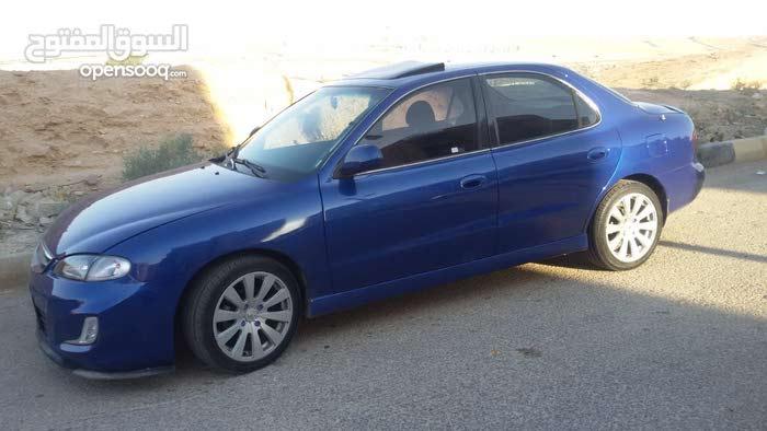 Blue Hyundai Avante 1997 for sale