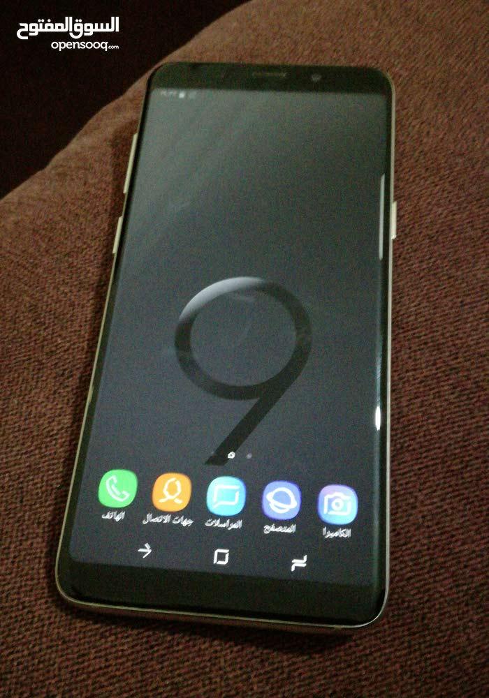 جلاكسي S9+ كوبي 1بحاله الوكاله