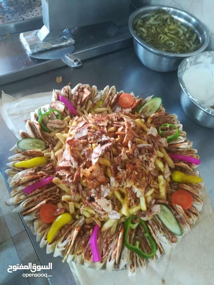 معلم مطعم حمص وفول وفلافل ومعلم بسطة عربي بحاجي لا شغل