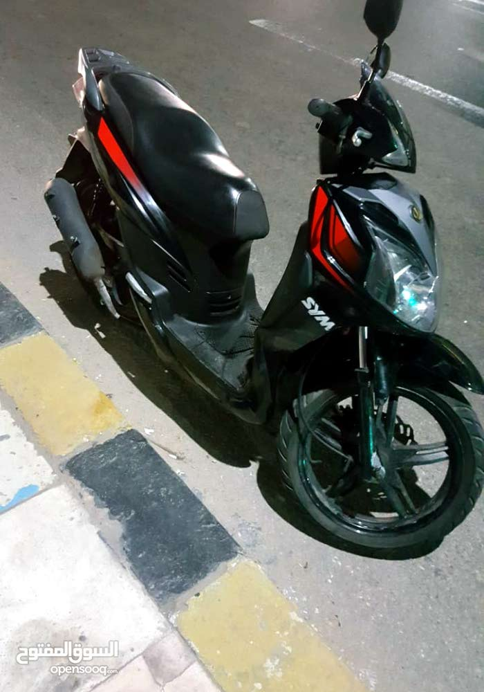SYM motorbike for sale made in 2017