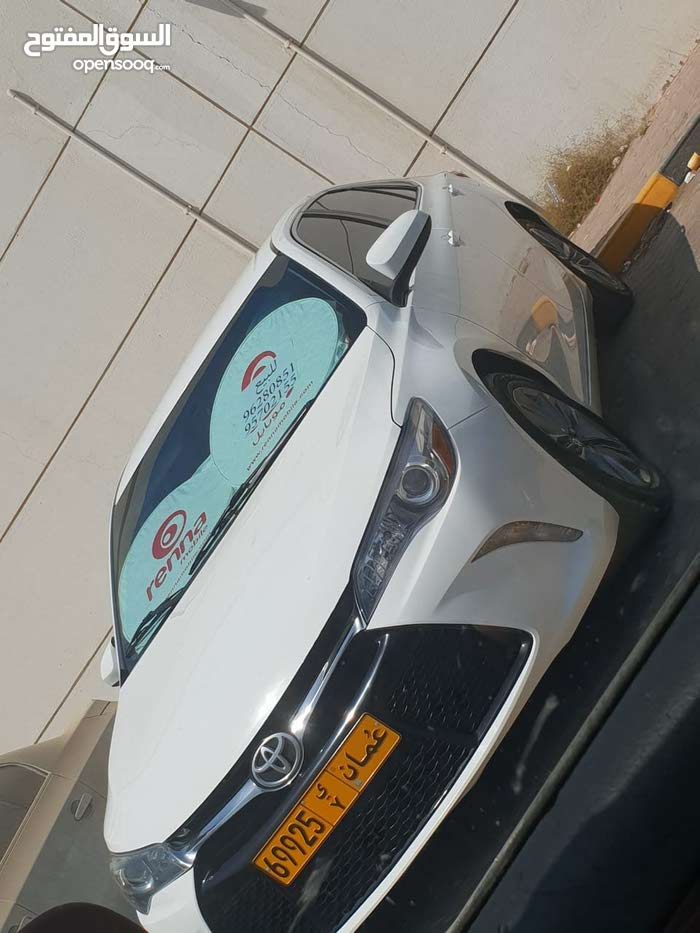 White Toyota Camry 2015 for sale