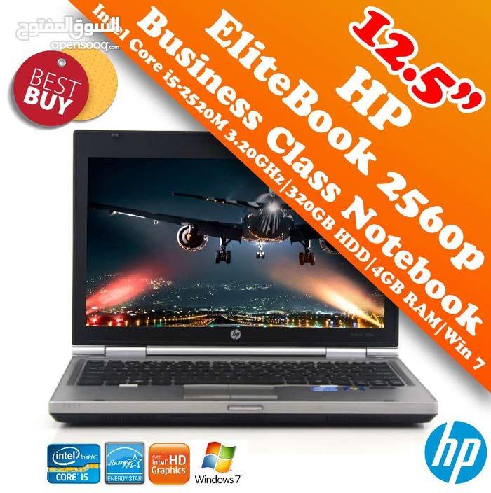 عرض خاص على كمبيوتر HP 2560  cor i5 كمبيوتر رجال الاعمال ب 160 عراقي فقط